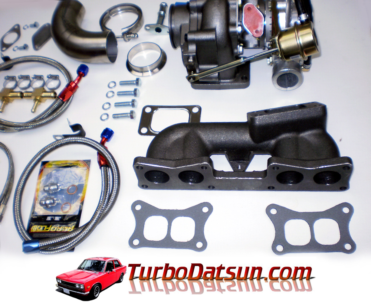 Z24 T3 Turbo Kit 1985 Nissan Hardbody Engine Schematics Parts That Are Needed Like Gaskets Hose Clamps Brackets Nuts And Bolts Etc There Is No Fabrication Necessary Apart From Welding The Exhaust Dump